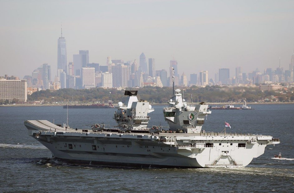 us uk join forces on cyber front during hms queen