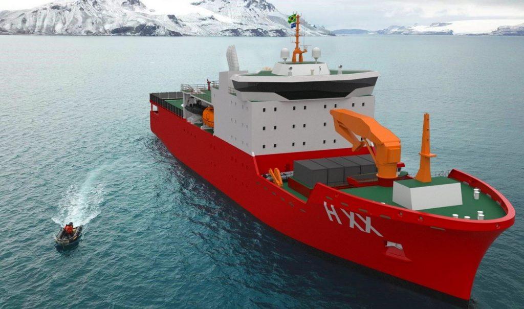 Wilson Sons e Damen farão oferta conjunta do novo navio de apoio à Antártica da Marinha do Brasil