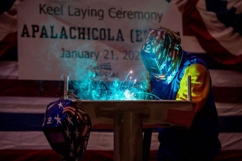 Austal: Keel laid for US Navy's 13th EPF - Naval Today