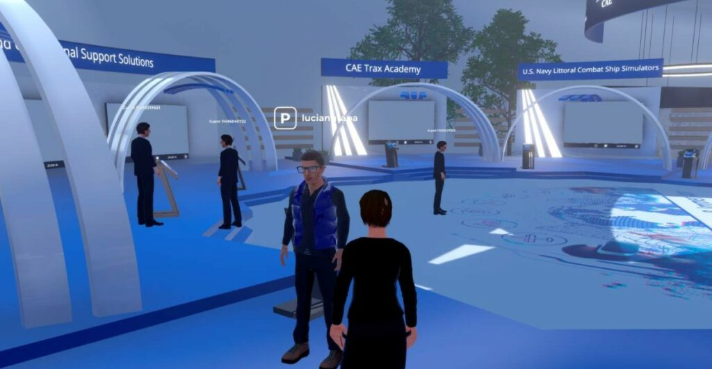 CAE OneWorld virtual conference and tradeshow