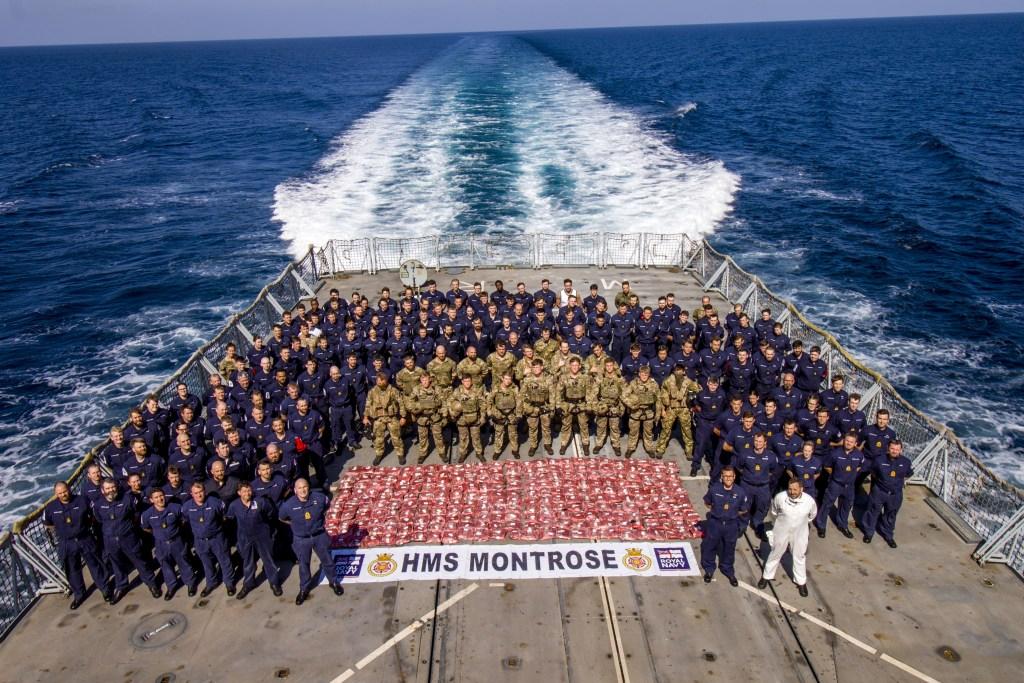 Royal Navy drugs