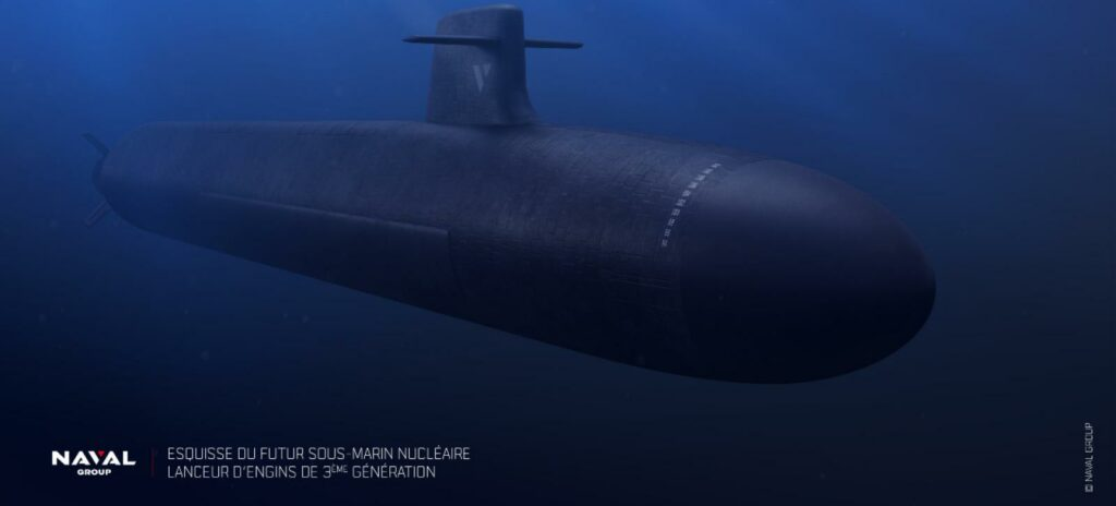 French Navy submarines