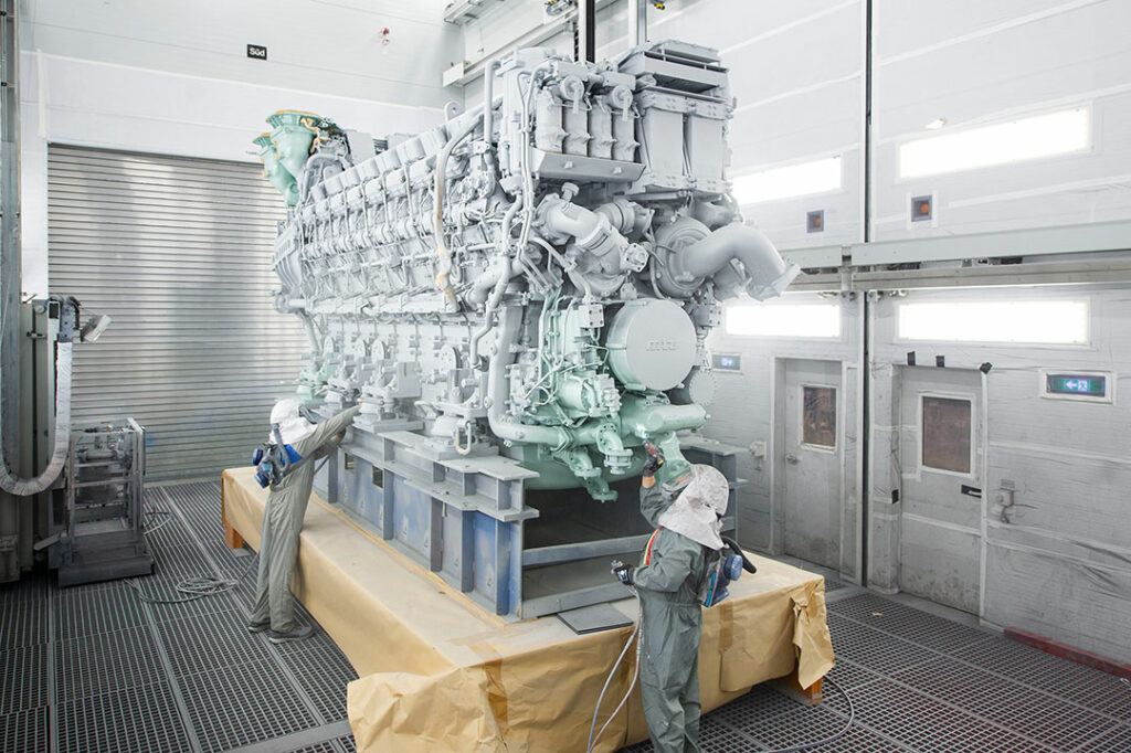 Rolls-Royce delivers 16-cyl mtu 8000 engines to Taiwan