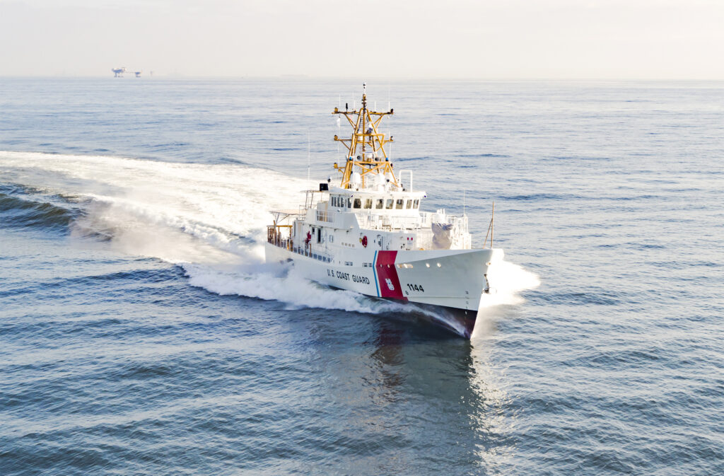 Bollinger Shipyards delivers fast response cutter USCGC Glen Harris