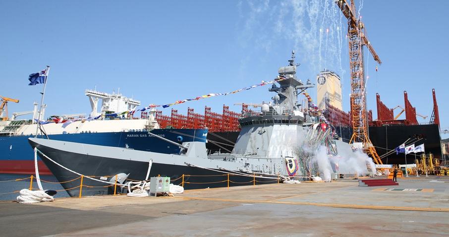 DSME builds 5th South Korean Daegu-class frigate