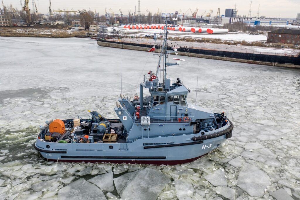 Evac's MGPS installed on new Polish Navy tugs