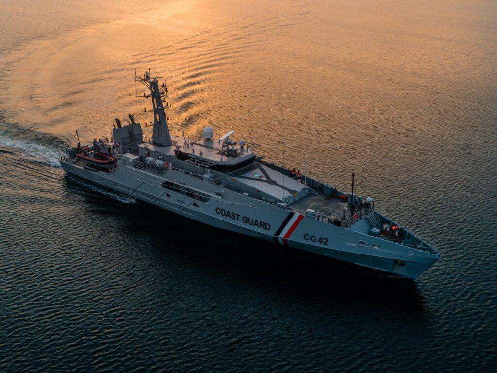 TTCG reçoit 2 patrouilleurs de classe Cape d'Austal Australie