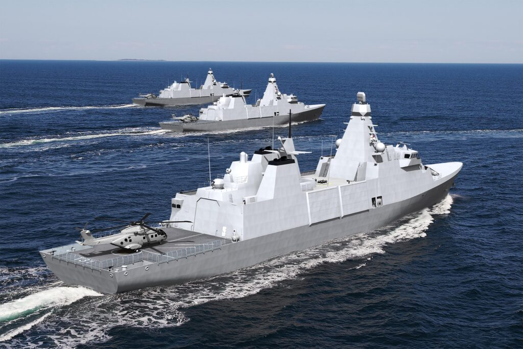 Britain's next generation of frigates named