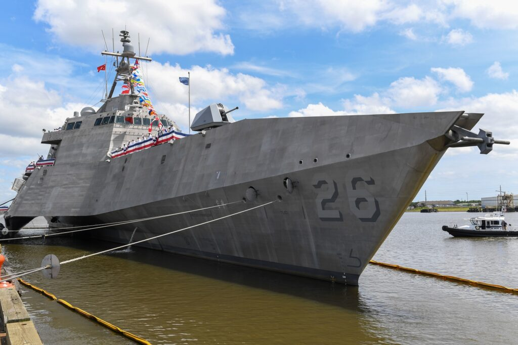 US Navy commissions USS Mobile