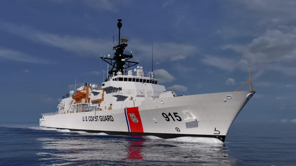 ESG hosts keel laying for US Coast Guard's OPC