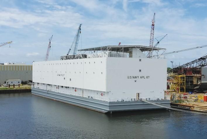 Halter Marine gets order for 5th US Navy berthing barge