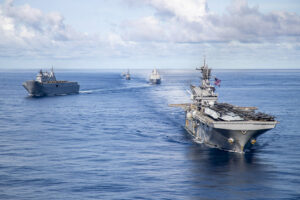 US, Australia and Japan together in Combined and Joint Battle Problem