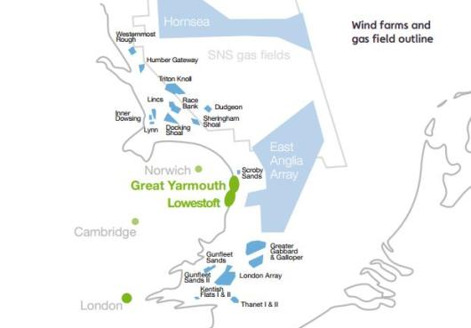 Uk East Anglia Becomes Hot Offshore Wind Topic Offshore