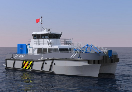 The Netherlands: Veka-Group Builds Catamaran for Offshore Industry