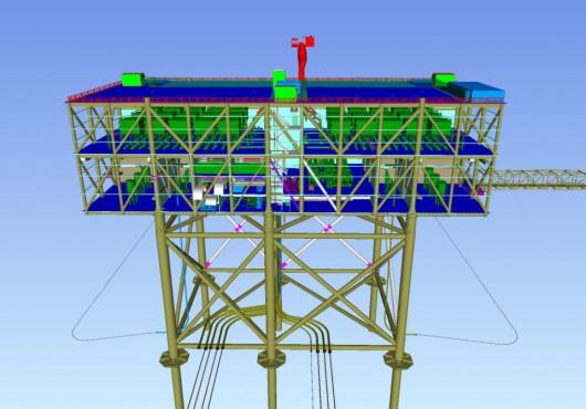 The Netherlands: Construction Starts on TenneT's HelWin Beta Platform