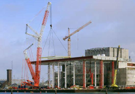 Germany: Liebherr Crawler Cranes Fit Substation Jacket for Borkum