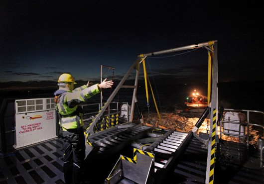 Offshore Wind Farm Support Vessel Clocks Up 363 Days of Operation in 2012 (UK)