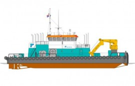 The Netherlands: Acta Marine Orders Another DP-1 Multi-Purpose Vessel