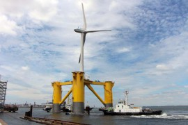 VIDEO: Fukushima Floating Offshore Wind Power Project