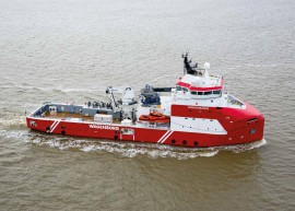 Maritime Holland: Royal Niestern Sander's Walk-to-Work vessel best solution to the NAM challenge