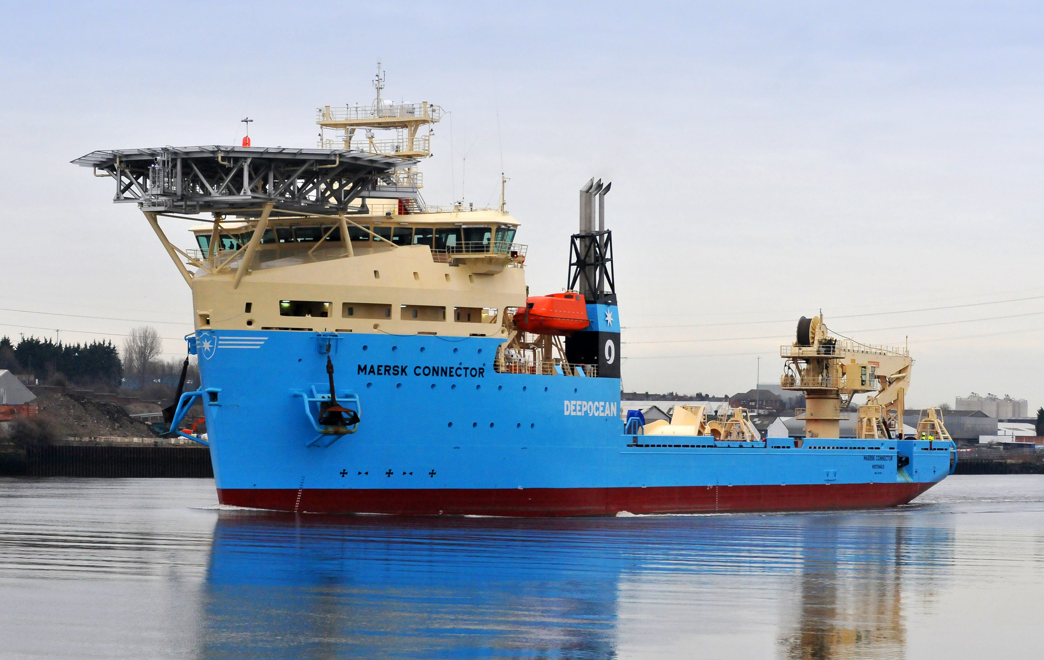DeepOcean Takes Over Maersk Connector | Offshore Wind