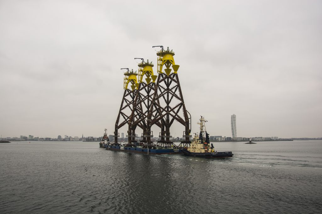 First Foundations Installed At Wikinger Owf Offshore Wind
