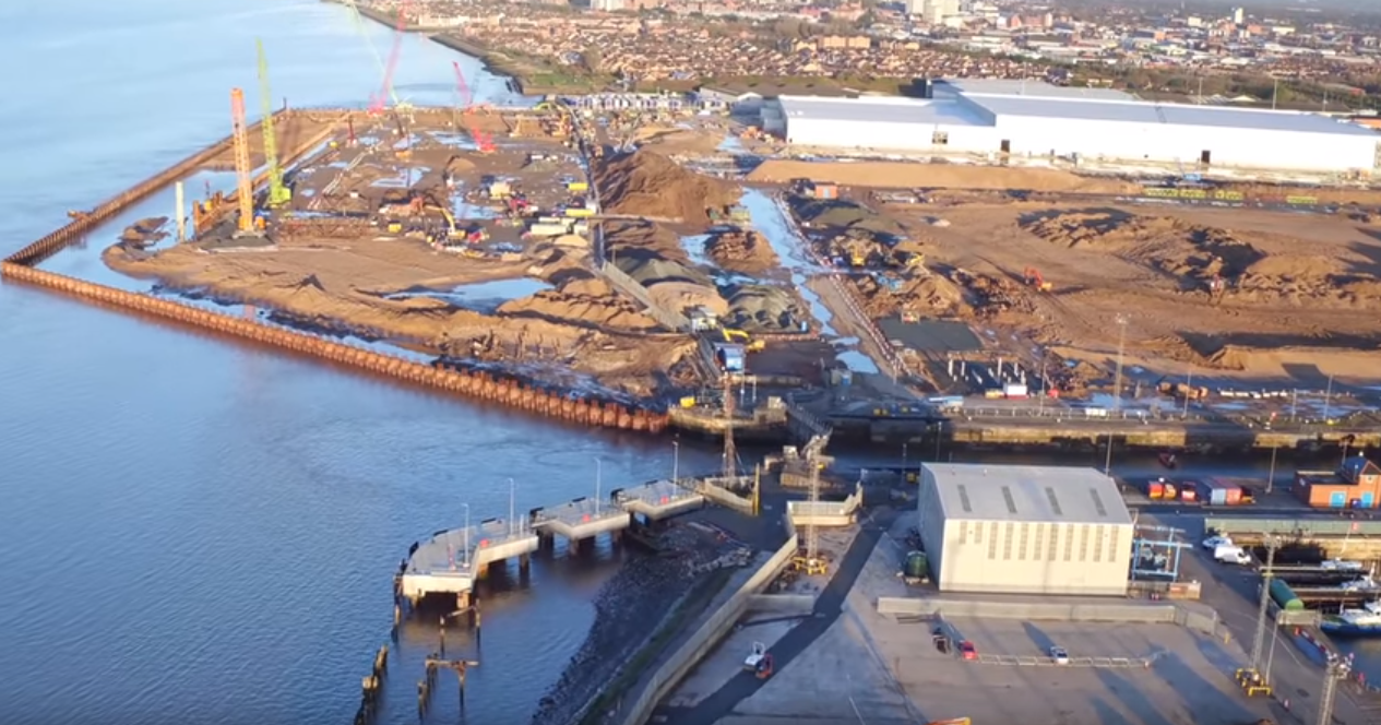Abp Setting Stage For Siemens Blade Factory In Hull Video Offshore Wind