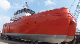 Njord Freyr Undergoes Full Engine and IPS Service at James Troop