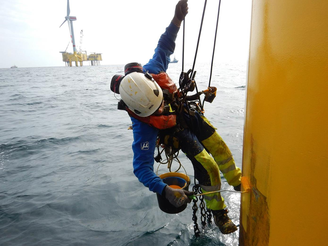 Muehlhan Targets Offshore Wind With New Service Unit