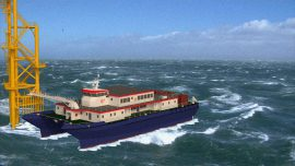 Ad Hoc Marine Designs Unveils 41m W2W Crew Transfer Vessel