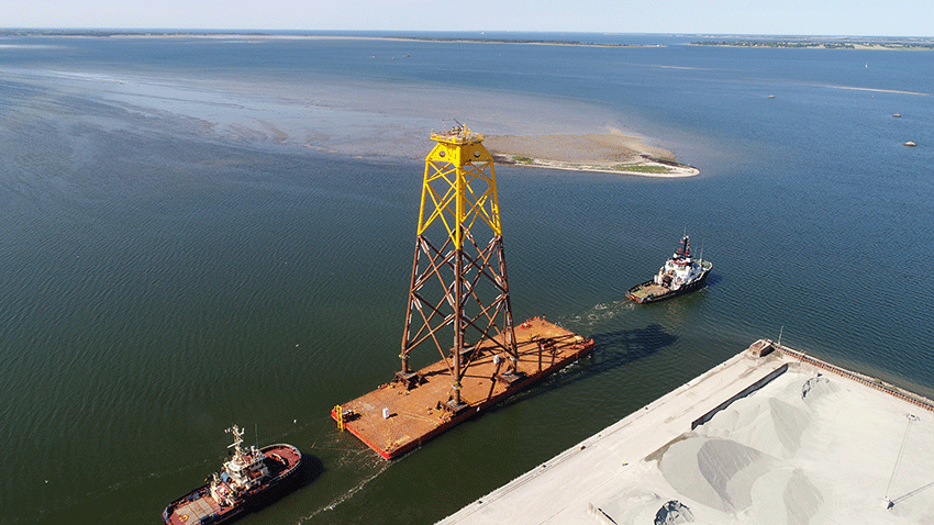 Bladt Sends Off Final Beatrice Jacket Offshore Wind