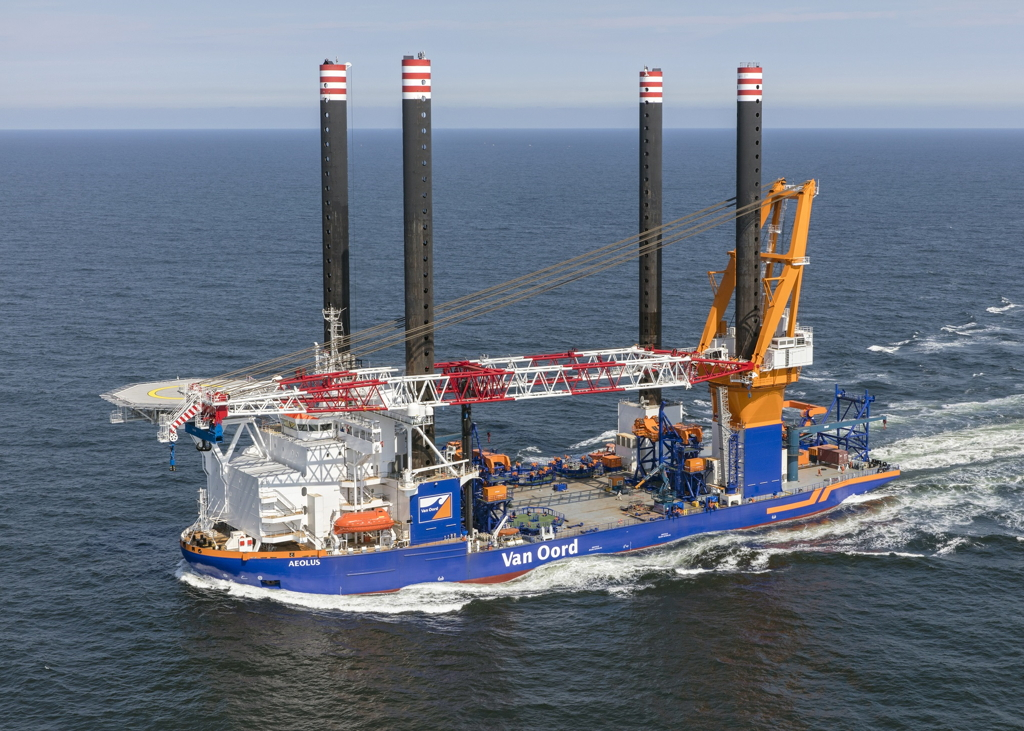 Aeolus Completes Sea Trials Set For Norther Owf Works
