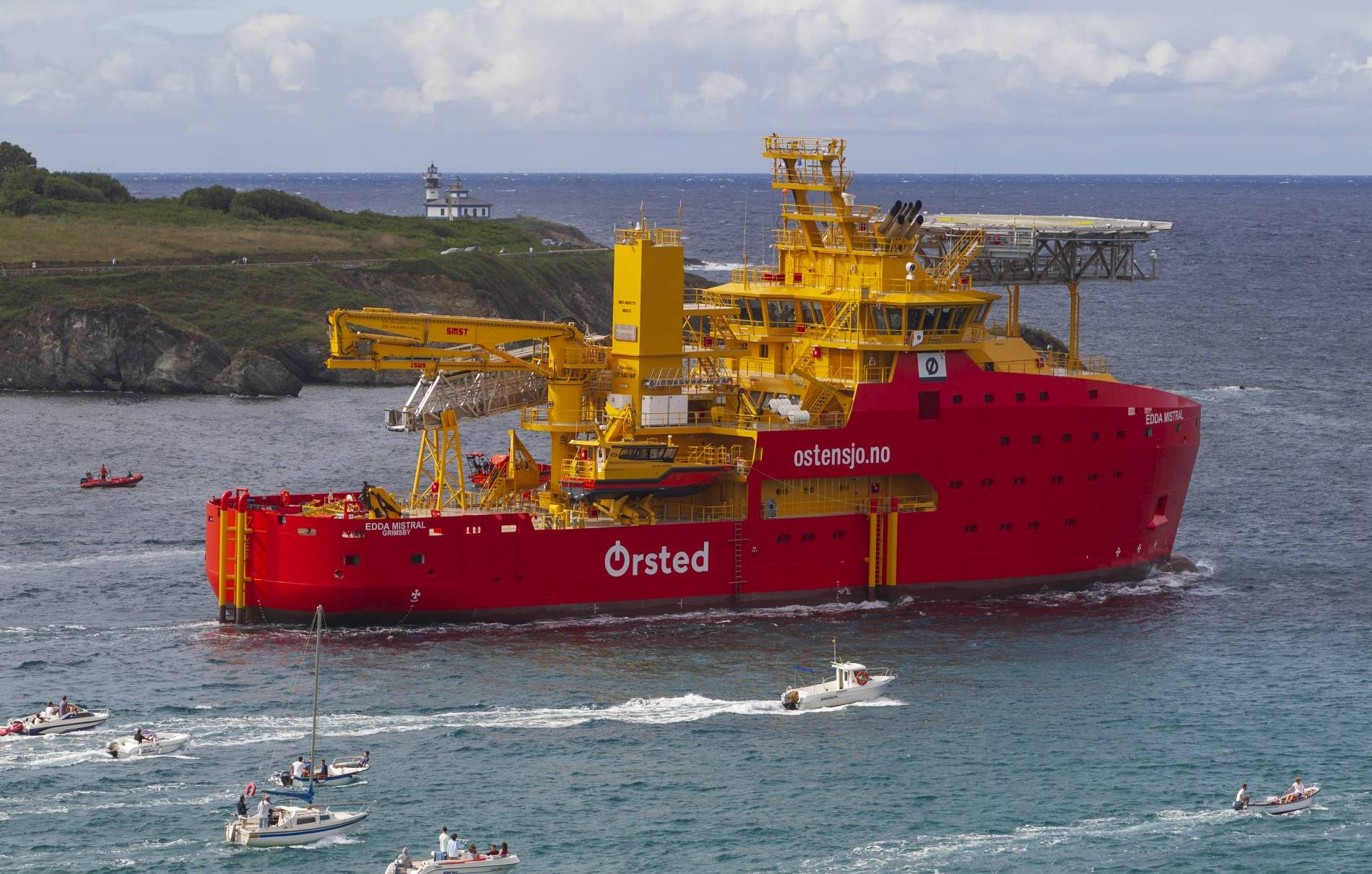 Edda Mistral Heads Out For Sea Trials Offshore Wind