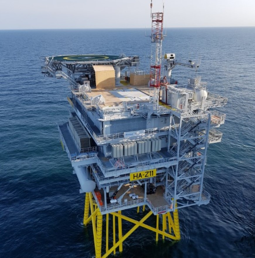 Hornsea One Offshore Substations In Place Offshore Wind