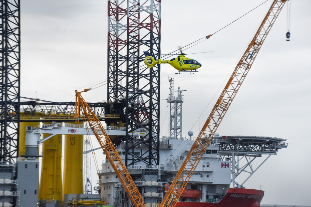 Accident on Pacific Osprey, Four People Injured | Offshore Wind