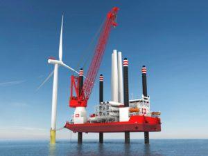 Image of IHC Heavy lift jack up vessel
