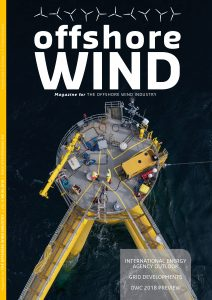 Edition 4 of Offshore WIND Magazine in 2018