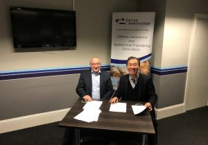 Cathie Associates and Blue Wind Sign South Korea OW Deal