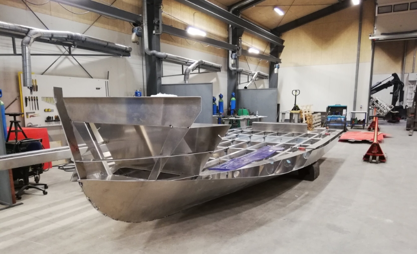 Sprogø CTV Taking Shape