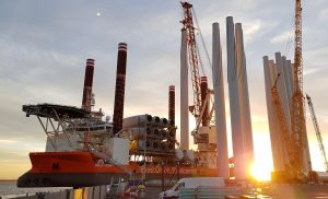 Bold Tern Begins Hornsea One Turbine Installation