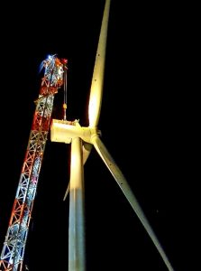 First Turbine Up at Hornsea Project One