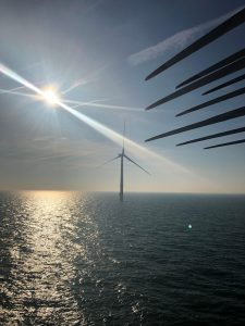 MHI Vestas V164 Turbine Marks Milestone at Norther