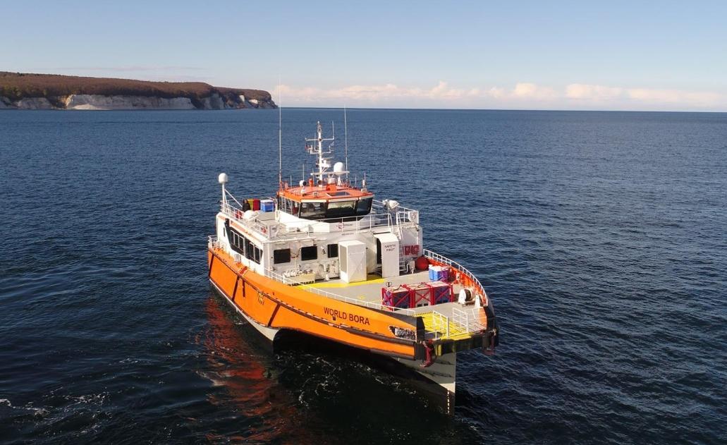 15 Injured After CTV Collides with Cargo Ship Off Rügen | Offshore Wind