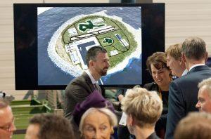 North Sea Wind Power Hub Gets Royal Treatment