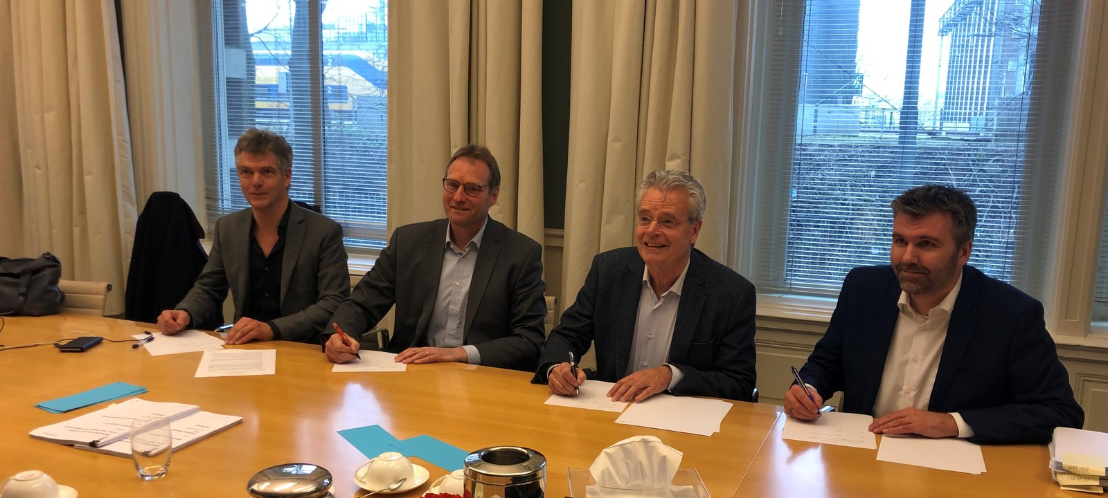 Van Oord and SGRE Sign Windpark Fryslân Conditional Contract