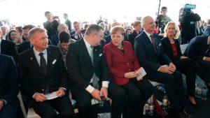 Chancellor Merkel Opens Arkona
