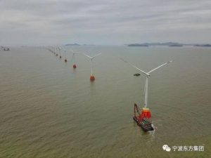 China's Liuheng Offshore Wind Farm Goes Into Operation
