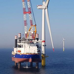 Norther Nears Turbine Installation Finish Line