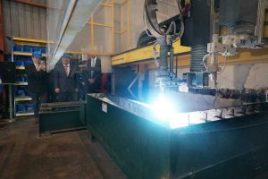 Damen Cuts First Steel for Taiwan's FCS Twins