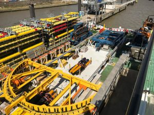 Deutsche Bucht Inter-Array Cable Work Kicks Off
